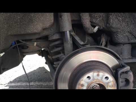 BMW E87 Replacing Rear Break Sensor