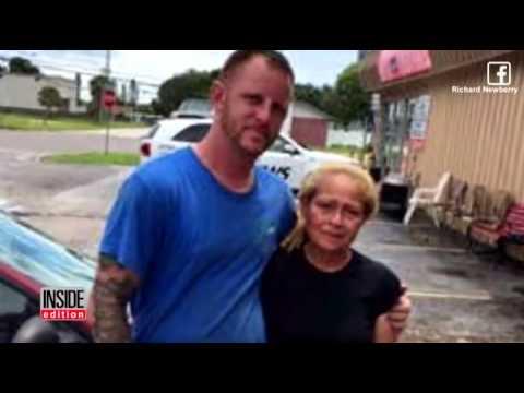 170626024 Mechanic Surprises Struggling Mom Who Lost Marine Son