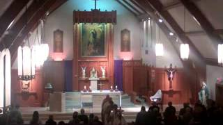 Pange Lingua (procession - 5 vss.) Holy Thursday 040512AD_xvid.avi
