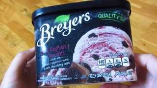 Breyers Ice Cream - Black Raspberry Chocolate Thumbnail