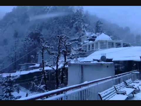 SNOWFALL IN JAMMU KASHMIR VAISHNO DEVI