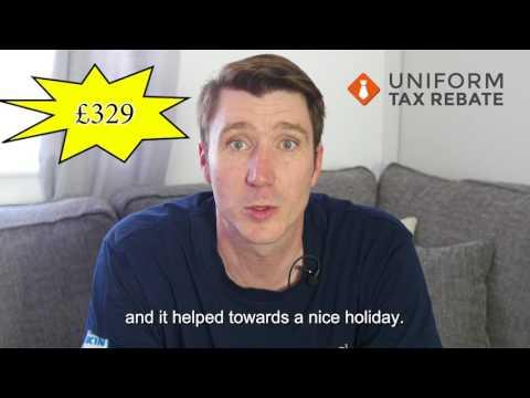 Anthony Field Got £329 From Uniform Tax Rebate