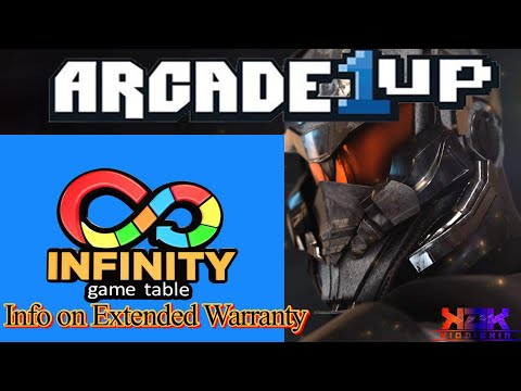 Arcade 1up Infinity Game Table Review | Extended Warranty Info & More from Kio ÐÎÊKÎÑ