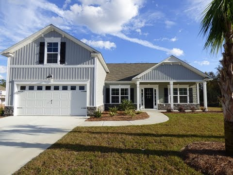 The Monterey Model Home by Village Park Homes at the Meadows in Bluffton SC