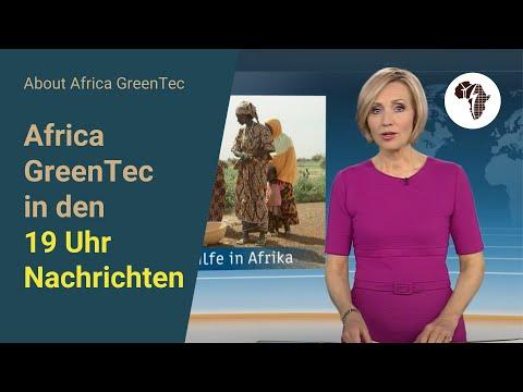 Africa GreenTec in den 19 Uhr-Nachrichten ZDF Heute