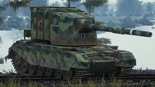 World of Tanks FV4005 Stage II - 9 Kills 11K Damage