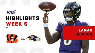 Lamar Jackson's Record-Breaking Day!   NFL 2019 Highlights