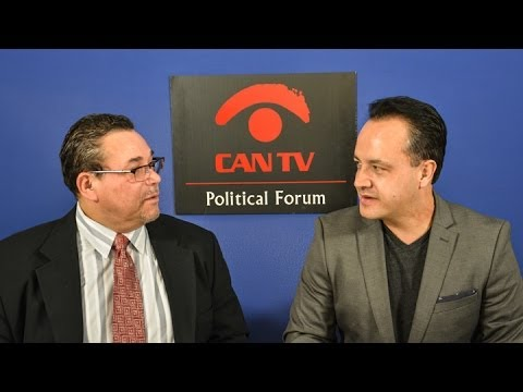 Ald. George Cardenas   Political Forum on CAN TV
