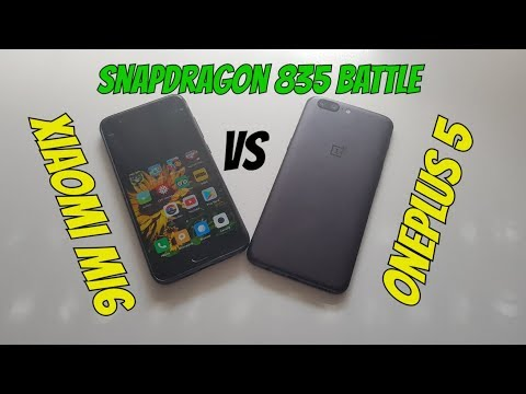 OnePlus 5 vs Xiaomi Mi6 Speed Test+Gaming/The Best Fastest Chinese Phones 2017/2018 Snapdragon 835