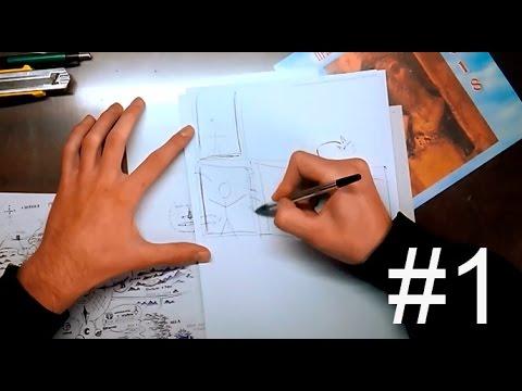 Как рисовать мангу дома| Часть 1: Основа. Материалы