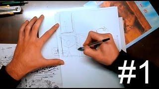 Как рисовать мангу дома| Часть 1: Основа. Материалы(Не начинаете рисовать мангу, потому что нет нужных инструментов? Выход есть всегда, и манга - не исключение...., 2014-12-04T14:26:11.000Z)