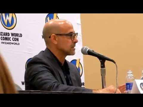 Stanley Tucci on playing Captain America's creator