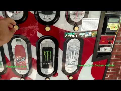 Soda Vending Machine Programming-Royal 804