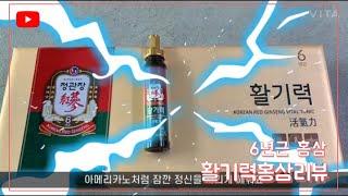 활기력 홍삼 6년근 홍삼 리뷰
