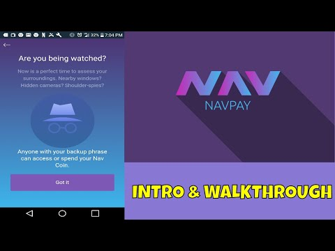 NavPay Mobile Wallet - How to Setup & Use NavPay - My Favorite Mobile Crypto Wallet