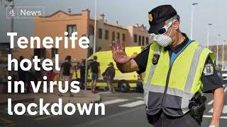 Tenerife hotel in lockdown over coronavirus