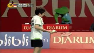 F - XD - T.Ahmad/L.Natsir vs S.Prapakamol/S.Thoungthongkam - 2012 Djarum Indonesia Open