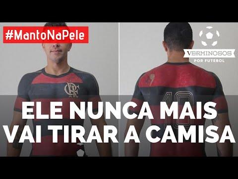 Torcedor do Flamengo conclui tatuagem da camisa do time - YouTube 43d5015d5163f