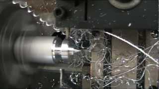 เครื่องกลึง CNC ขนาดเล็ก ชนิด Gang Type มี 2 Tools