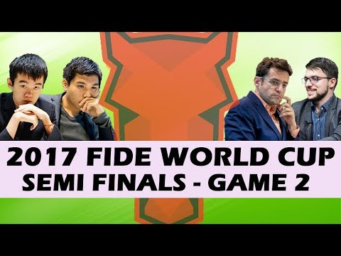 2017 World Cup Semifinals Game 2: Yasser Seirawan & Hansen