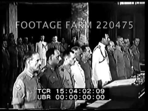 Surrender At Singapore 220475-03 | Footage Farm