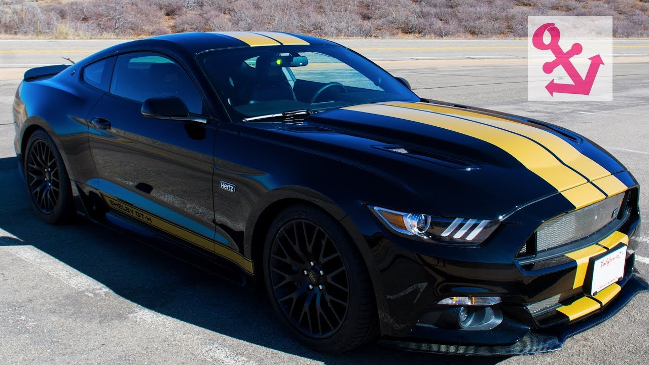Awesome rental car the 2016 ford mustang shelby gt h