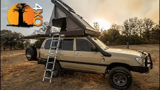 Outfitting for Camping 20-Year-Old Land Cruiser