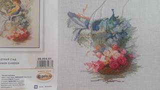 Вышивка по набору от Марьи Искусницы Летний сад