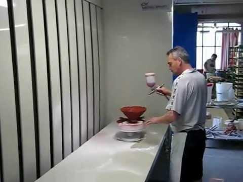 vidali impianti: cabina per verniciatura a secco in materiale