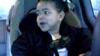 """My 3 yrd singing, """"Kelly Rowland Trina, Here We Go"""""""