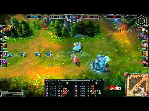 STREAM ARENALEAGUE SpeedCup LOL #11 - sHa vs .cW | LOL [3ème partie]