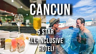 AMAZING All Inclusive 5 Star ADULTS ONLY Hotel in CANCUN Iberostar Cancun 2019 Cancun Travel Vlog