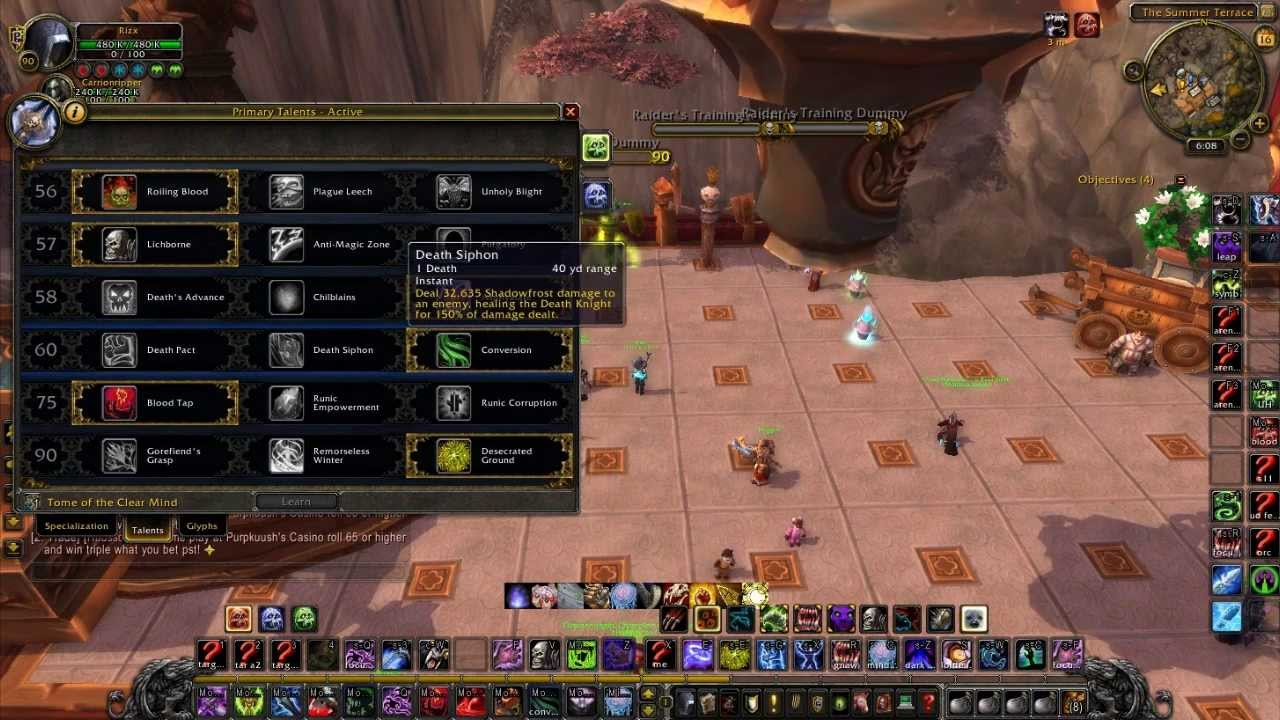 Wow mop 5 4 unholy dk pvp guide youtube for Wow portent 5 4