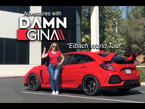 Eibach World Tour & Honda Civic Type R Spring Install - Adventures with Daaamngiina