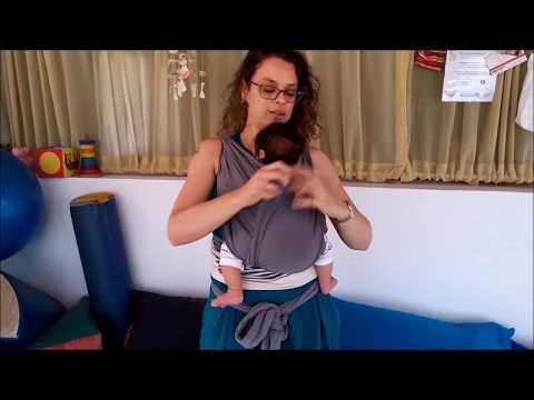 Sharon Dror Baby Carrier Hug Wearing