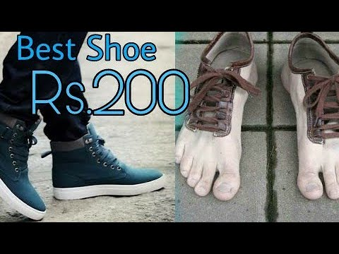 51de1d93b6b Best Shoes For Men Only 200 Rupees in India Unboxing - YouTube
