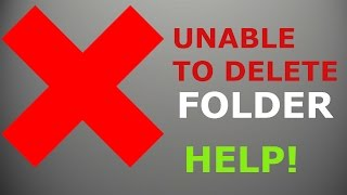 fix unable to delete folder error could not find this item solution here