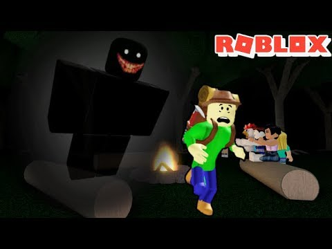 THE CAMPING TRIP OF HORROR ft. BALDI !! SUPER SPOOPY!! | The Weird Side of Roblox: Camping