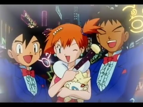Pokemon Master Quest - Misty Says Goodbye To Ash & Brock