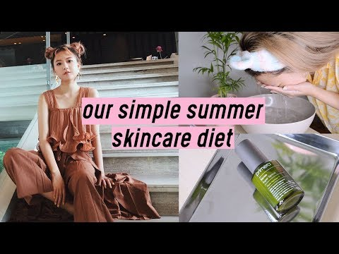 "Our Summer ""Skincare Diet"" Cleansing using Organic Products 