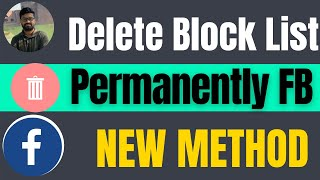 How to delete facebook blocked list permanently 2021