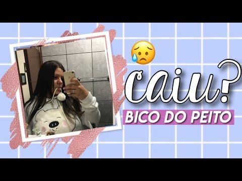 BICO DO PEITO MEU CAIU