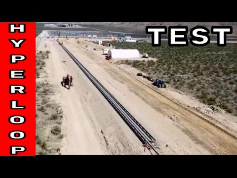 Full Scale Demo of Elon Musk's Hyperloop