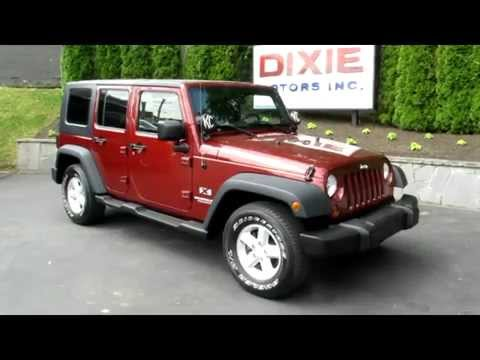 2008 Jeep Wrangler Unlimited -Dixie Motors Inc. Nashville TN