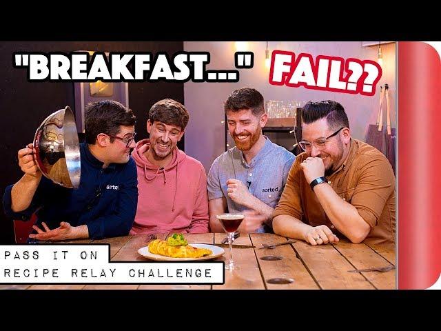 """BREAKFAST"" Recipe Relay Challenge | Pass It On Ep.9"
