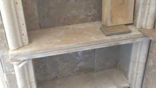 This video is not available. Shower recessed shelf or niche