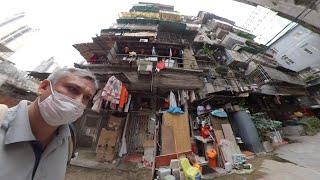 Южный Китай 360 Прогулка по пешеходным улицам Гуанчжоу в период эпидемии