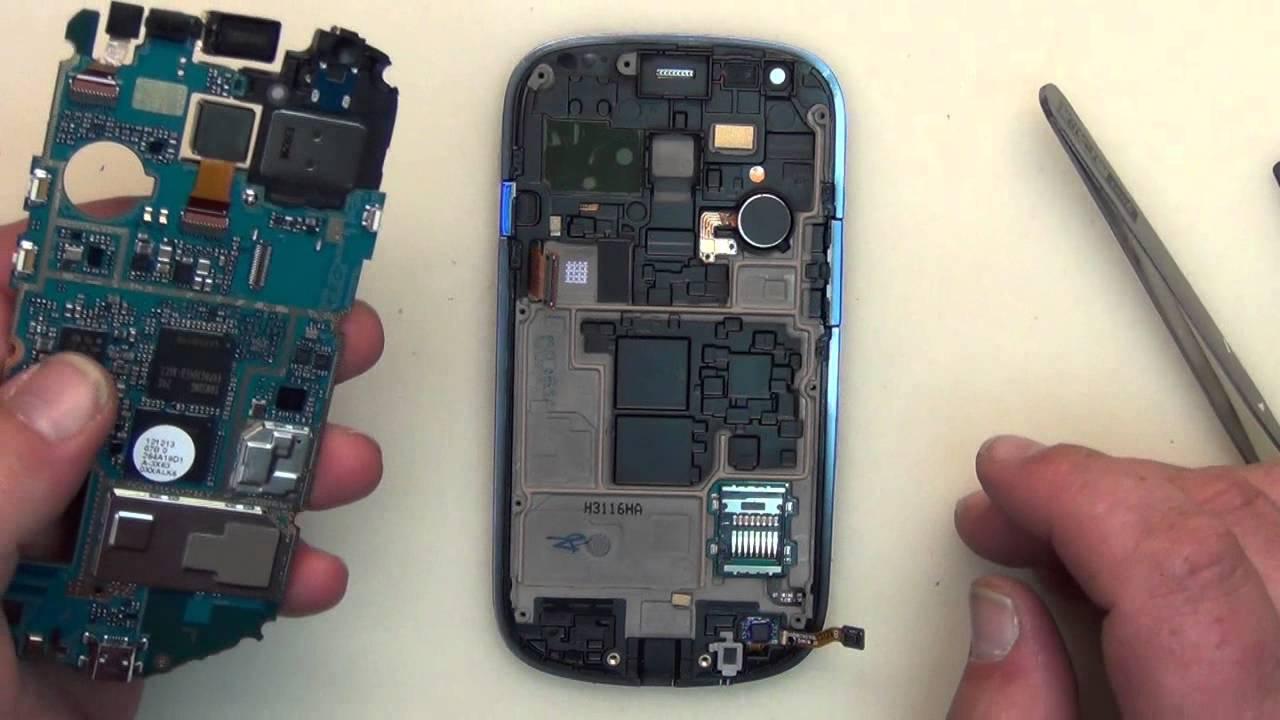 Tutoriel changer l'écran samsung galaxy s3 mini i8190