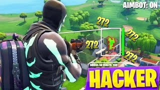 I spectated a aimbot hacker and this happened... (Fortnite)