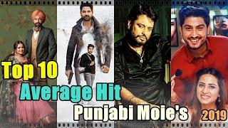 Top 10 Average Hit Punjabi Movies of 2019